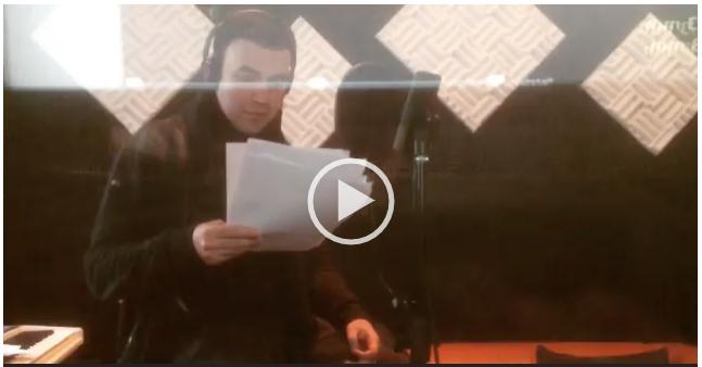 Запись диктора на студии звукозаписи HYPERSOUND