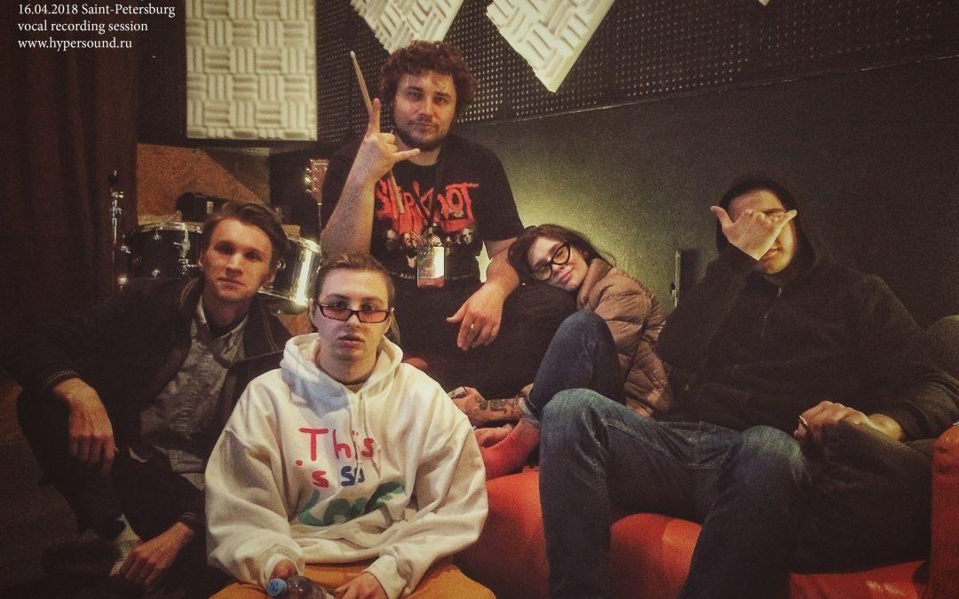 Томас Мраз/Thomas Mraz на студии звукозаписи HYPERSOUND